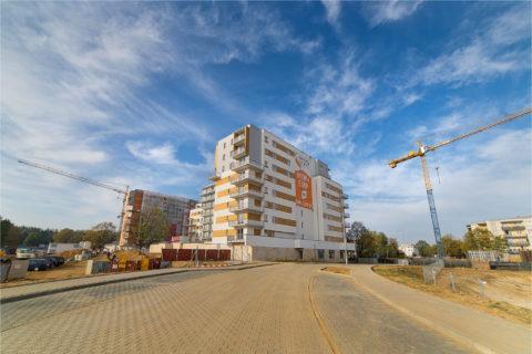 droga dojazdowa do Comfort City sfinansowana przez BARC Warszawa S.A.