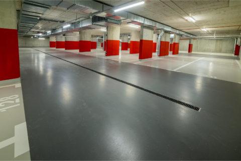 garaż podziemny Comfort City Rubin ulica Dionizosa 7 Białołęka
