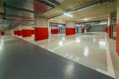 garaż podziemny Comfort City Rubin Białołęka Winnica