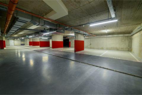 garaż podziemny w Comfort City Rubin ulica Dionizosa 7