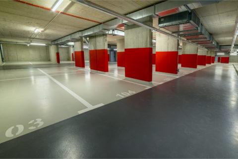 garaż podziemny Comfort City Rubin ulica Dionizosa 7
