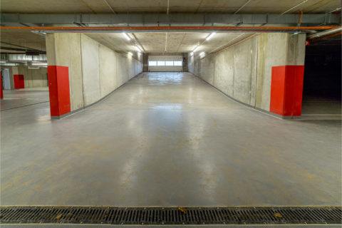 wyjazd z garażu podziemnego Comfort City Rubin