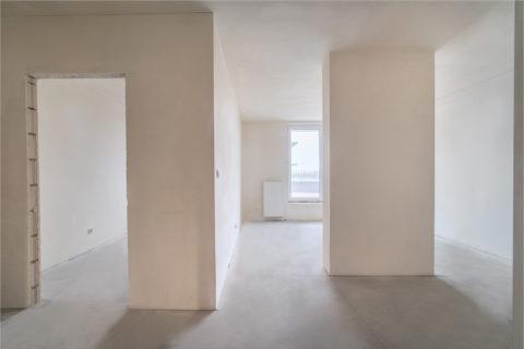 przykładowe gotowe mieszkanie w Comfort City Rubin stan deweloperski BARC Warszawa S.A.