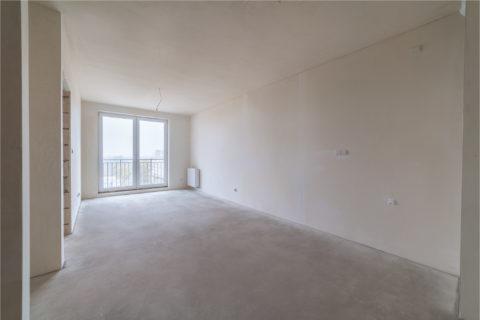 przykładowe mieszkanie w stanie deweloperskim Comfort City Rubin