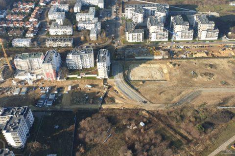Comfort City Białołeka z lotu ptaka listopad 2019