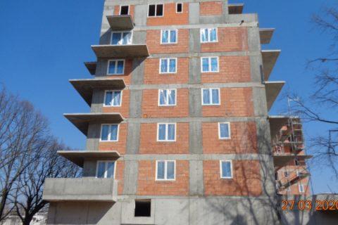 Comfort City Ametyst stan budowy na 27 marca 2020