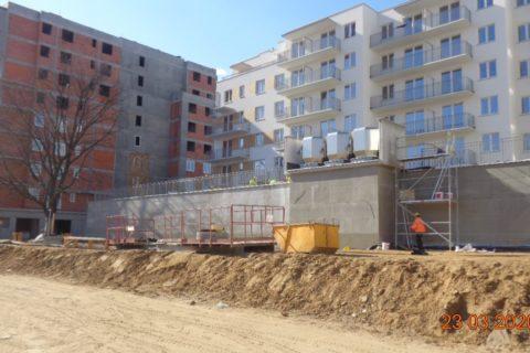 Comfort City Ametyst zdjęcia z budowy 23 marca 2020