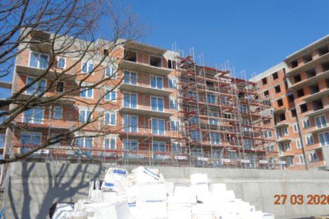 budowa Comfort City Ametyst 27  marca 2020