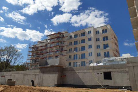 Comfort City Ametyst_stan prac budowlanych_27 kwiecień 2020