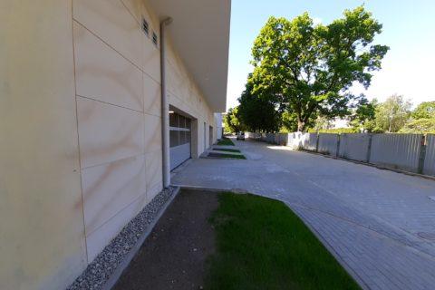 wjazd do garażu Comfort City Bursztyn Białołęka czerwiec 2020