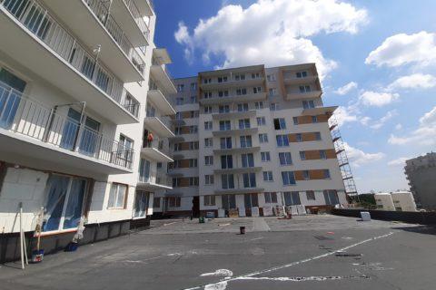 prace na patio Comfort City Ametyst czerwiec 2020