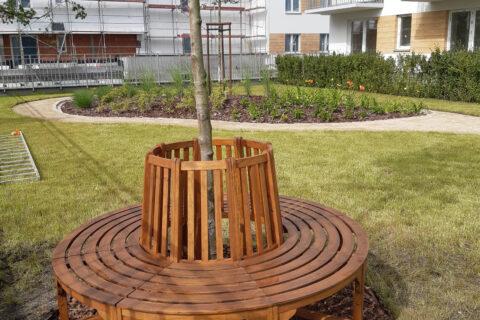 ławka na patio Comfort City Bursztyn lipiec 2020