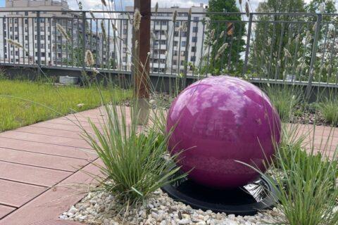 Comfort City Ametyst źródełko na patio maj 2021