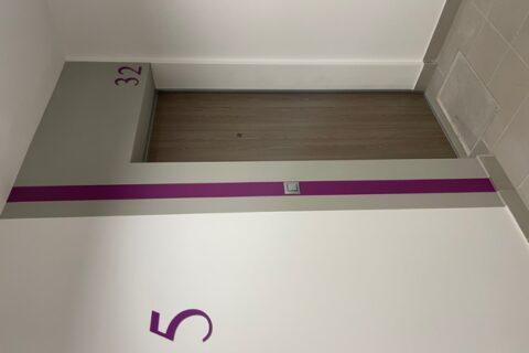 Comfort City Ametyst wejście do mieszkania, drzwi Dierre, maj 2021