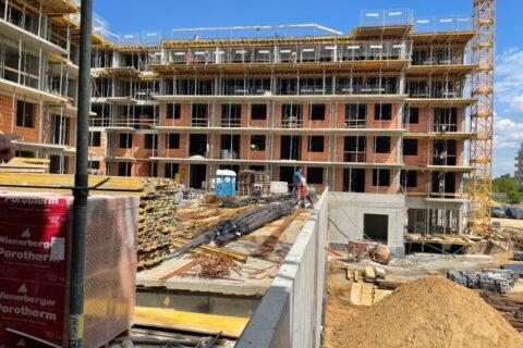 Comfort City Perła w budowie maj 2021