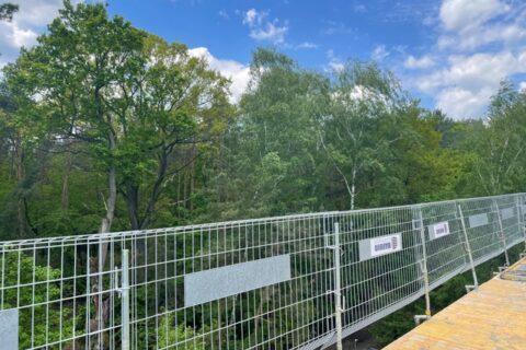 Comfort City Perła widok na park leśny maj 2021